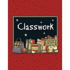 Teacher Created Resources Classwork Pocket Folder from Susan Winget