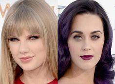 Maquiagem Taylor Swift e Katy Perry no Billboard Music Awards. Veja outros makes do evento!