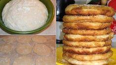 Milujete langoše?Tak to si určite obľúbite tieto chrumkavé a nadýchané domáce langoše.� Hungarian Recipes, Nutella, Ale, Pancakes, French Toast, Favorite Recipes, Sweets, Bread, Cheese