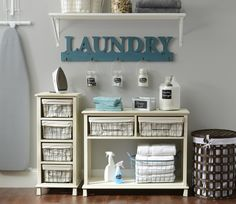 Our Raleigh Storage Collection is made of cream finishes and wire baskets, perfect for a country chic home! The crisp, clean feel makes these products perfect for the laundry room or bathroom. Console Tables and cabinets are both available! Wire Basket Decor, Basket Decoration, Wire Baskets, Storage Drawers, Storage Baskets, Kirkland Home Decor, Storage Design, Country Chic, Wash Room