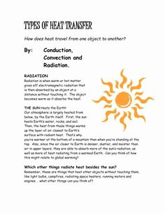 Worksheet Methods Of Heat Transfer Beautiful Worksheet Worksheet Methods Heat Transfer Answers Worksheet Maker, Pattern Worksheet, Worksheets For Kids, Current Events Worksheet, Resume Template Free, Templates, Work Energy And Power, Poetic Techniques, School