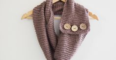 p.s.♡: diy : buttoned up infinity scarf