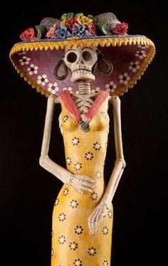 La Calavera Catrina-the elegant and noble Mexican icon and Grande Dame of Dia de los Muertos-Day of the Dead