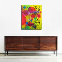 Painting by RegiaArt #yellow #art #colorful #bubbles http://r.ebay.com/64z8Ja