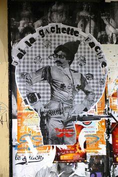 Madame (moustache)- street art - paris 10 - passage des petites ecuries (juin 2013)