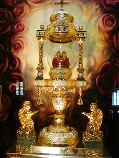 The relic of Saint Rita of Cascia