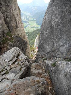 Klettersteig na Steinplatte (Austria) - 31. 8. 2013