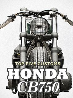 """The original Honda CB750 Four is one of the most sought-after bikes to customize. And it's not hard to see why: classic 1970s style, peerless performance for its era, and that legendary Honda engineering. Click through to see our five best CB750 customs—including the Wrenchmonkees' """"Gorilla Punch"""" shown above."""