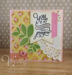 Created by Anya Schrier using the Wonderfully Made and Bloom & Grow sets from Verve Stamps.