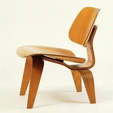 Prototipo de Silla LCW - Charles Eames & Ray Eames 1945