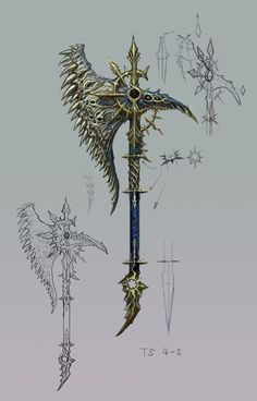 T5 Chaos Axe for Warhammer OL
