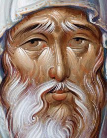 Anthony the Great More icons of venerable saints… Byzantine Icons, Byzantine Art, Religious Icons, Religious Art, Anthony The Great, Onofre, Les Religions, Soul Art, Art Icon