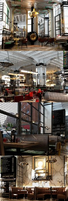 Drop Dead gorgeous restaurant interior