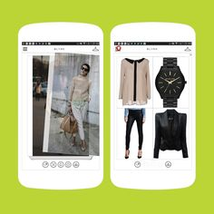 This app is like Tinder for fashion.