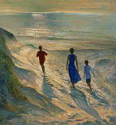 Timothy Easton, Beach Walk, 1994