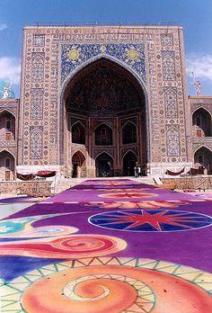 The Registan . Samarkand, Uzbekistan