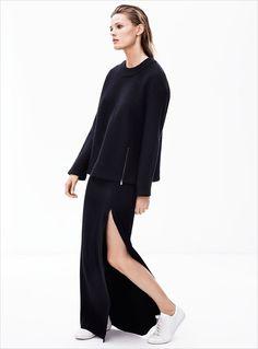 MINIMAL + CLASSIC: Edita Vilkeviciute for Zara Fall 2014 [Lookbook]