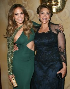 Falling out: Jennifer Lopez, seen here with her mother Guadalupe Rodriguez in says the pair fell out when she was 18 over her career. Hope this mother daughter duos relationship has been repaired! Black Celebrities, Famous Celebrities, Famous Women, Beautiful Celebrities, Celebs, Beautiful Family, Beautiful People, Kevin Spacey, Carolina Herrera