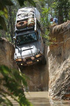 Toyota Land Cruiser. Gun Shot, Cape York. Uber sweet. I wanna go.: