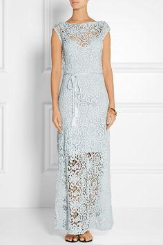 Miguelina|Georgia crocheted cotton maxi dress|NET-A-PORTER.COM