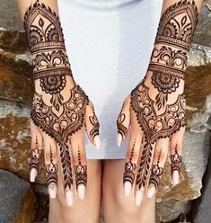 We have a photo gallery featuring amazing henna designs for your inspiration