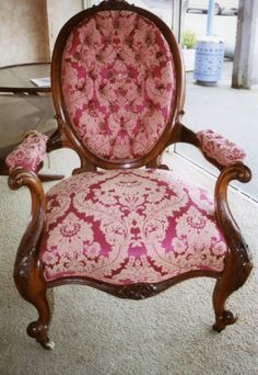 Furniture restoration - Victorian Chair - Birch Restorations