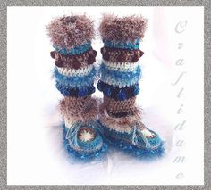 free crochet boot patterns for adults   Free Crochet Slipper Patterns – Easy Slippers to Crochet