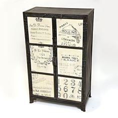 Muebles Portobellostreet.es:  Armario Moderno France 2 puertas - Armarios Vintage - Muebles Vintage