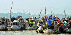 Chợ nổi Cái Răng trên sông Cần Thơ là một trong ba chợ nổi lớn nhất ở miền Tây Nam bộ cùng với chợ nổi Phụng Hiệp (Hậu Giang) và chợ nổi Cái Bè (Tiền Giang).