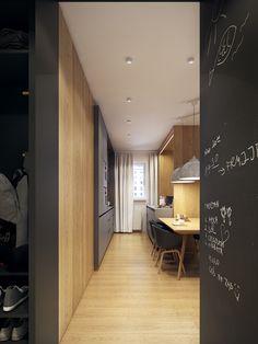moderne zwei zimmer wohnung stil fabrik - Stil Wohnung