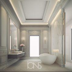 Elegant bathroom design behance ideas