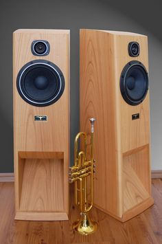 The CapriHorn - Two Way BVR Loudspeaker based on Fostex and Fostex Pro Audio Speakers, Audiophile Speakers, Horn Speakers, Sound Speaker, Diy Speakers, Hifi Audio, Monitor Speakers, New Technology Gadgets, Electronics Gadgets