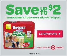 South Suburban Savings: New Coupon: $2/1 Huggies Diapers