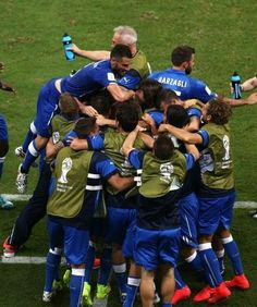 2014 FIFA World Cup Brazil : 14th June, 2014 England 1-2 Italy : Azzurri to victory