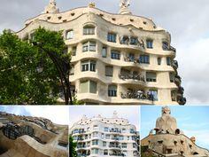 Casa Milà - Highlights of Barcelona – The Girls Who Wander The Girl Who, Wander, Highlights, Barcelona, Spain, Mansions, House Styles, Girls, Little Girls