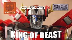 Mad Toys King of Beast Infinity Gokin review - CollectionDX
