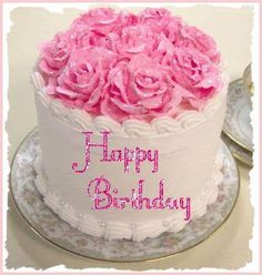 Best Happy Birthday GIF Images and Pictures - 9 Happy Birthday Happy Birthday Cake Pictures, Pink Happy Birthday, Happy Birthday Celebration, Happy Birthday Beautiful, Happy Birthday Messages, Happy Birthday Quotes, Happy Birthday Greetings, Birthday Blessings, Birthday Wishes