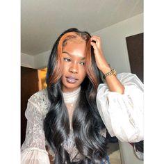 Braided Hairstyles For Black Women Sew In Hairstyles, Baddie Hairstyles, Black Girls Hairstyles, Braided Hairstyles, Birthday Hairstyles, Brown Hair Streaks, Blonde Streaks, Natural Hair Styles, Short Hair Styles