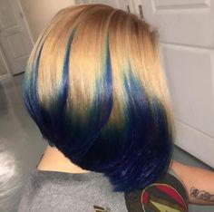 Dope color by @kbbsalon - https://blackhairinformation.com/hairstyle-gallery/dope-color-kbbsalon/