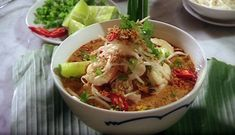 Malaysian laksa recipe (cheat's laksa) : SBS Food