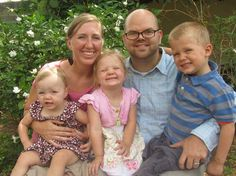 My name is Ellen Rosenberger. I'm married to a wonderful man, Luke, and we have three young kids: David (4...
