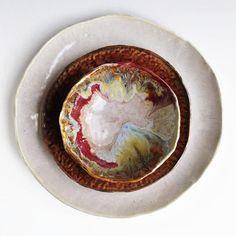 handmade dinnerware River Journey 3 pc dinnerware set