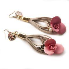 Suede Earrings