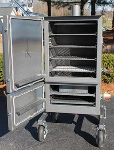 Vertical Direct Smoker