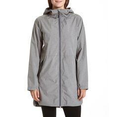 Hooded Raincoat w/ Mesh Lining