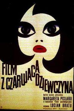 Un film cu o fată fermecătoare Lucian Bratu - Polish poster Polish Movie Posters, Polish Films, Graphic Design Illustration, Graphic Art, Illustration Art, Vintage Magazine, Girl Artist, Art Graphique, Photoshop Design