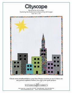 Cityscape by LB Krueger free pattern