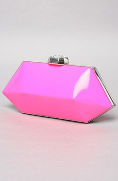 Betsey Johnson The Neon Clutch in Pink : Karmaloop.com - Global Concrete Culture
