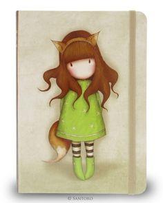 Santoro London Gorjuss Ladies Long Wallet Purse - The Fox Cute Images, Cute Pictures, Santoro London, 3d Cards, Copics, Cute Dolls, Cute Drawings, Painted Rocks, Cute Art
