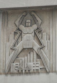 Period Architectural Detail - Commonweath Edison Substation, Chicago, IL by kgunnar, via Flickr